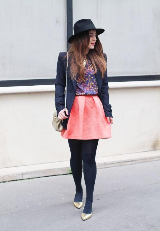 jupe orange