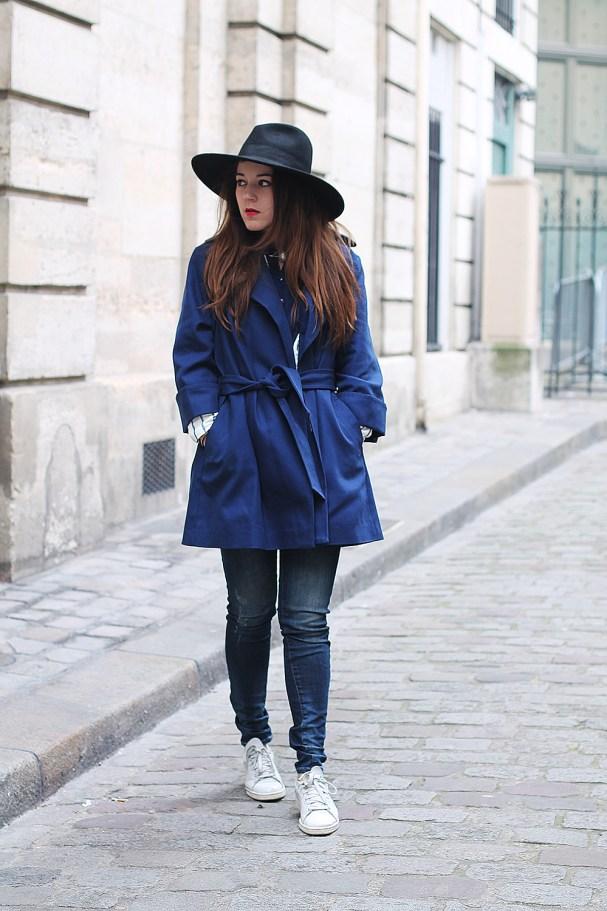trench bleu