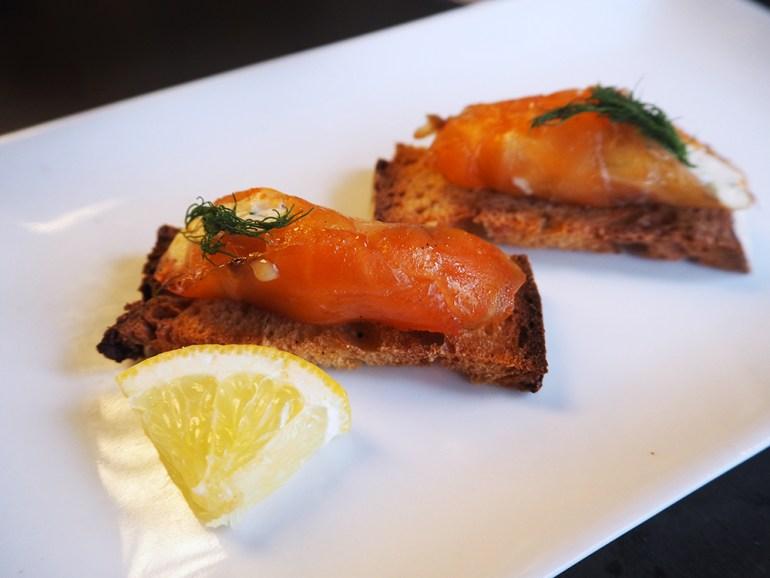 tapas saumon
