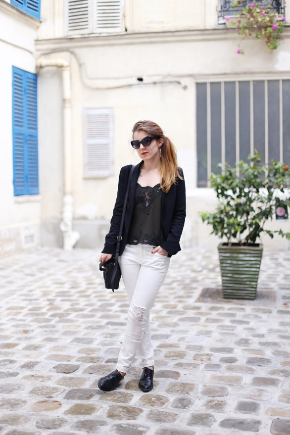 look white jeans