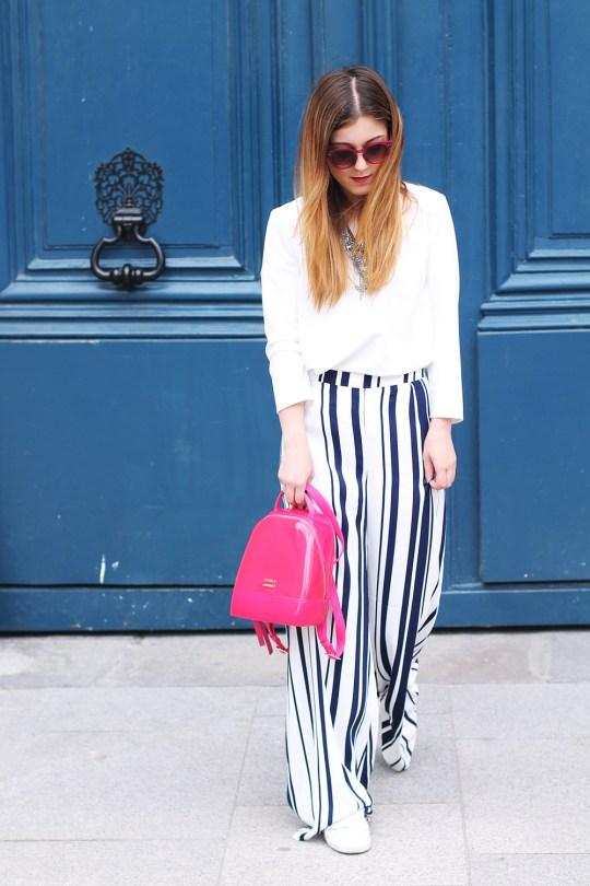 pantalon rayures