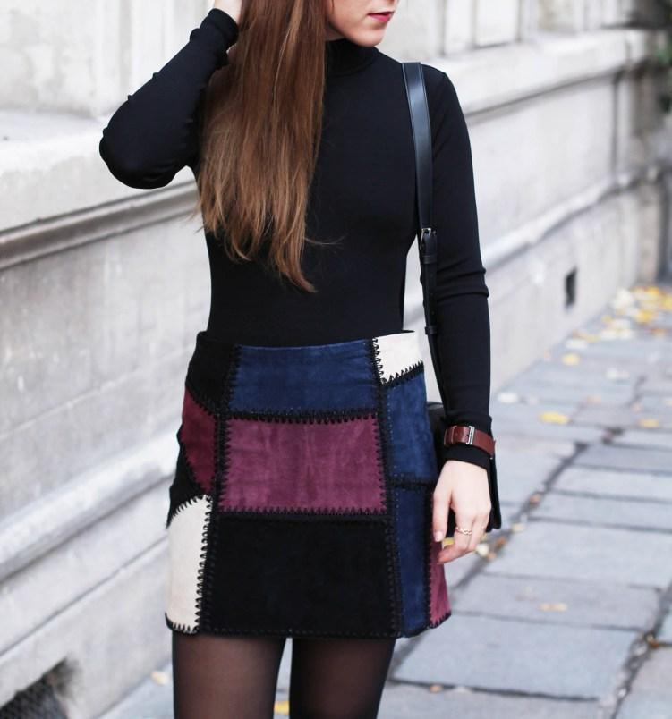 jupe patchwork