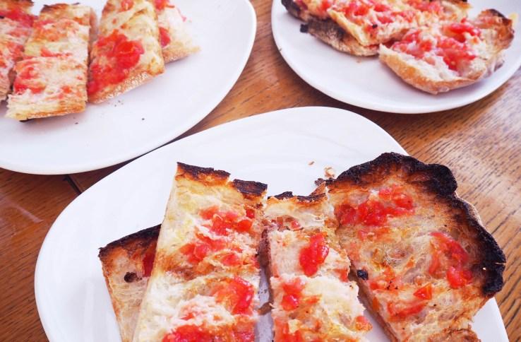 pan con tomata