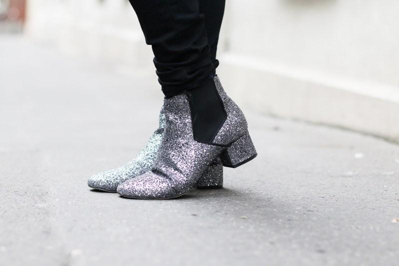 andré glitter shoes