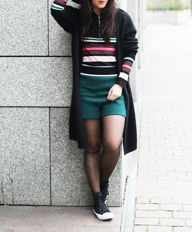 short vert H&M