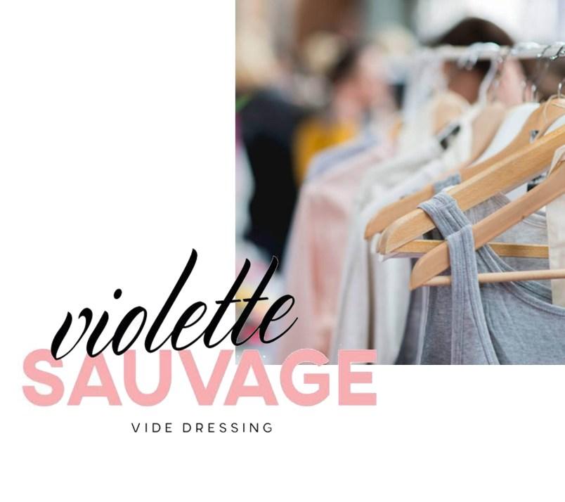 violette sauvage vide dressing