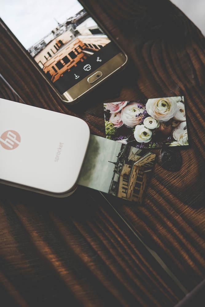 impression photo smartphone