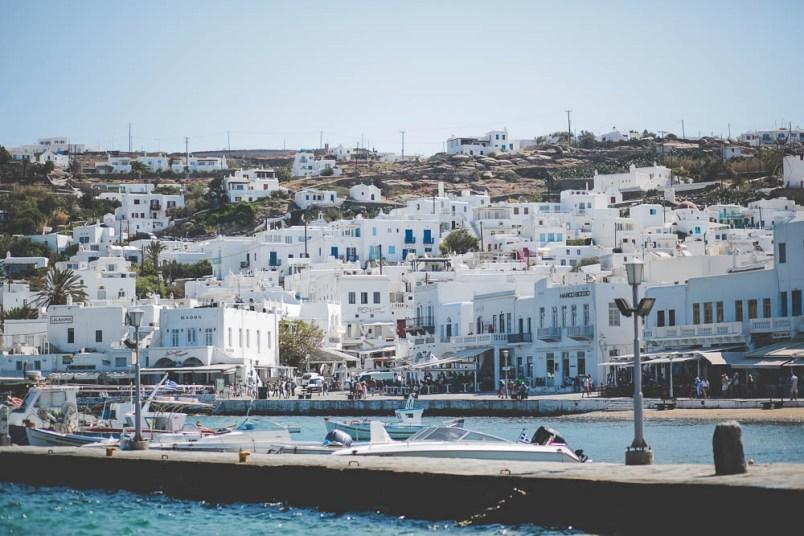 port mykonos