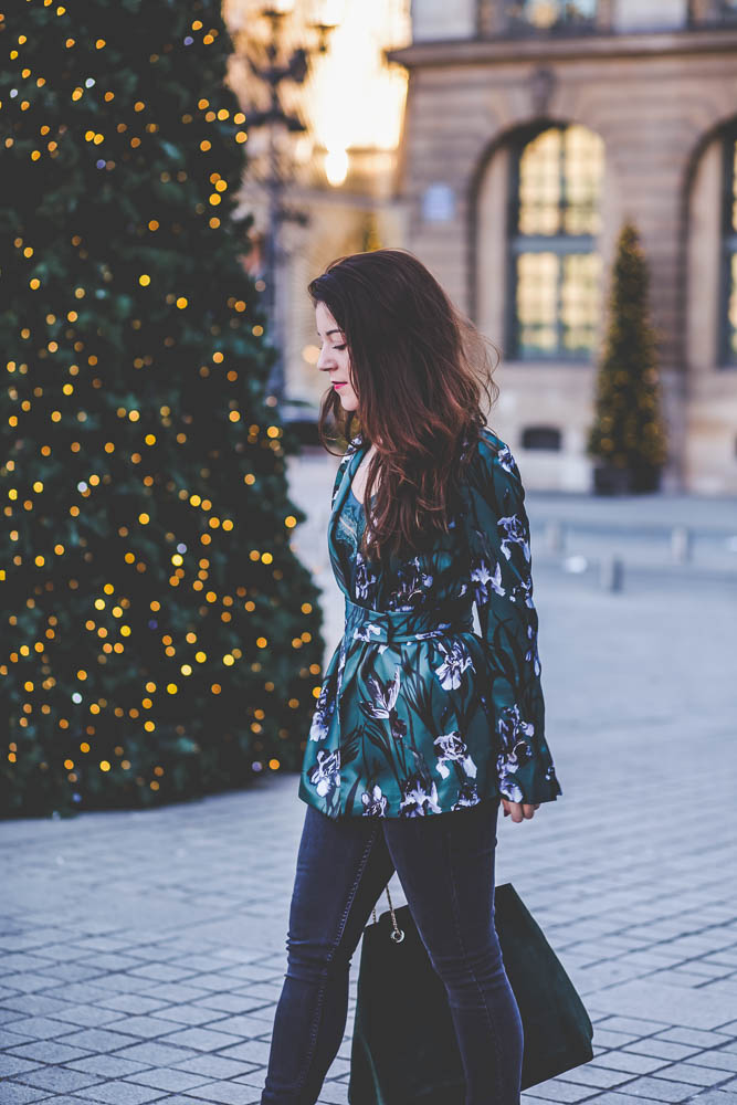 blazer floral