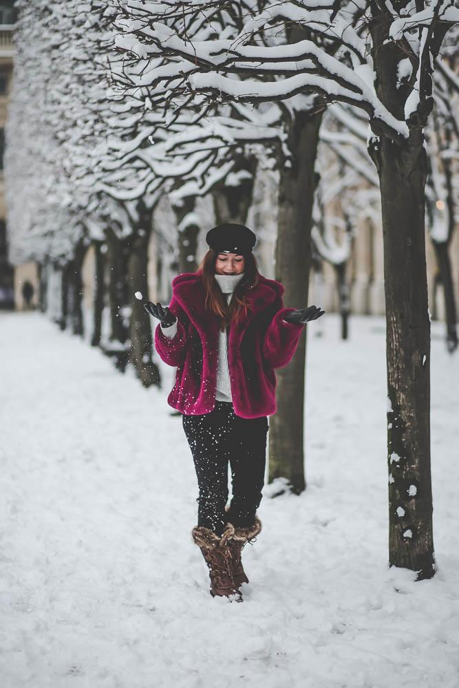 snow paris