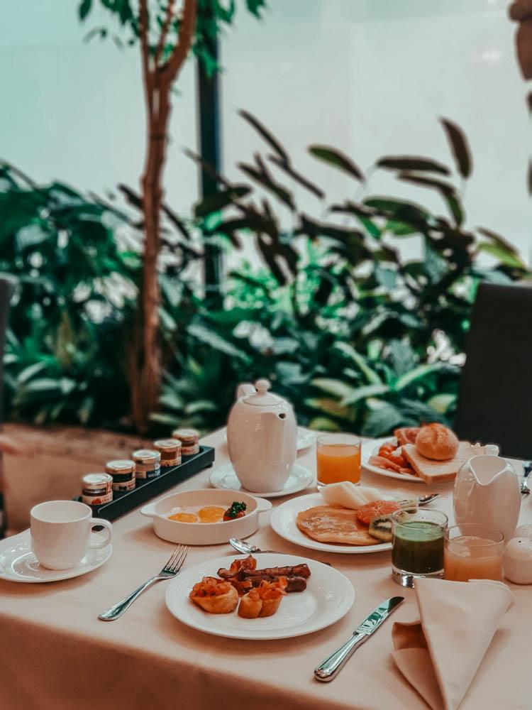 breakfast hotel papadopoli venezia