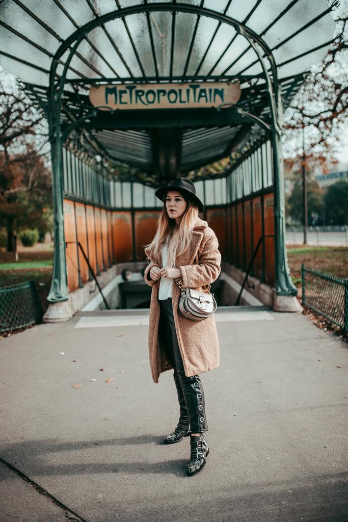 manteau peluche