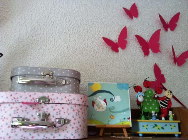 photo 51 Dans la chambre de Bérénice : décoration vintage