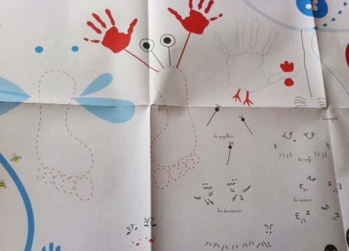140723 coloriage 4 Tapis dactivités : les animaux par Delphine Chedru