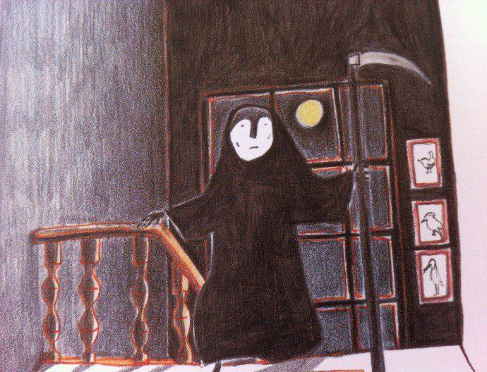 141106 petite mort5 690x528 La question du deuil et de la mort dans les livres pour enfants