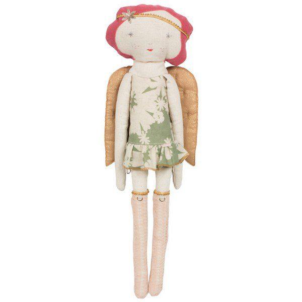 141127 maileg poupee de l avent angel girl green Cest une poupée...