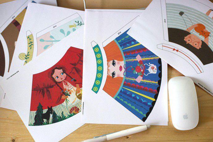 141211 flow poupee111 690x460 Flow Magazine : des poupées à fabriquer (+ résultat concours)