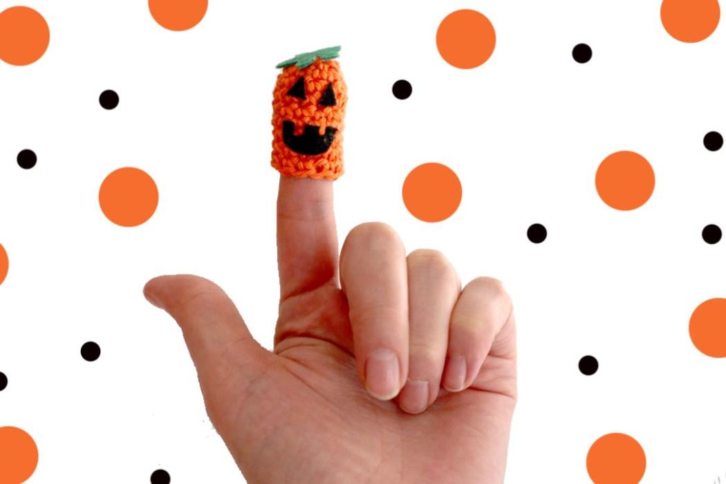 151028 marionnettescitrouillehalloween Mes horriiiiibles marionnettes à doigts  (DIY)