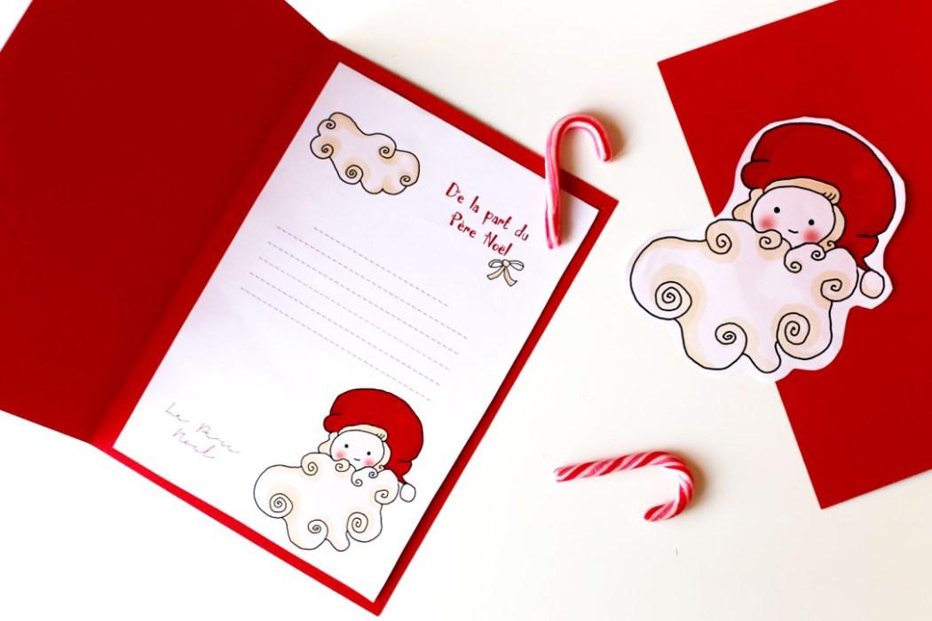 151207 delapartduperenoel2 De la part du Père Noël (Free Printable)