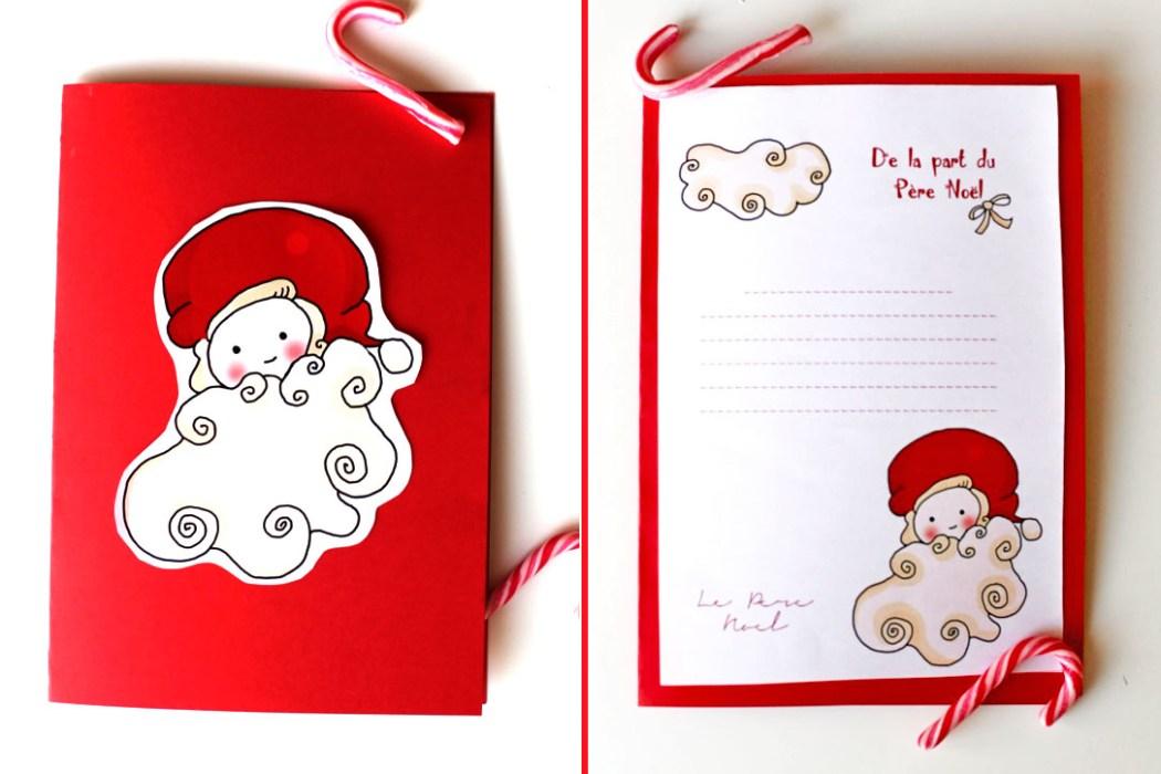 151207 delaprtduperenoel4 De la part du Père Noël (Free Printable)