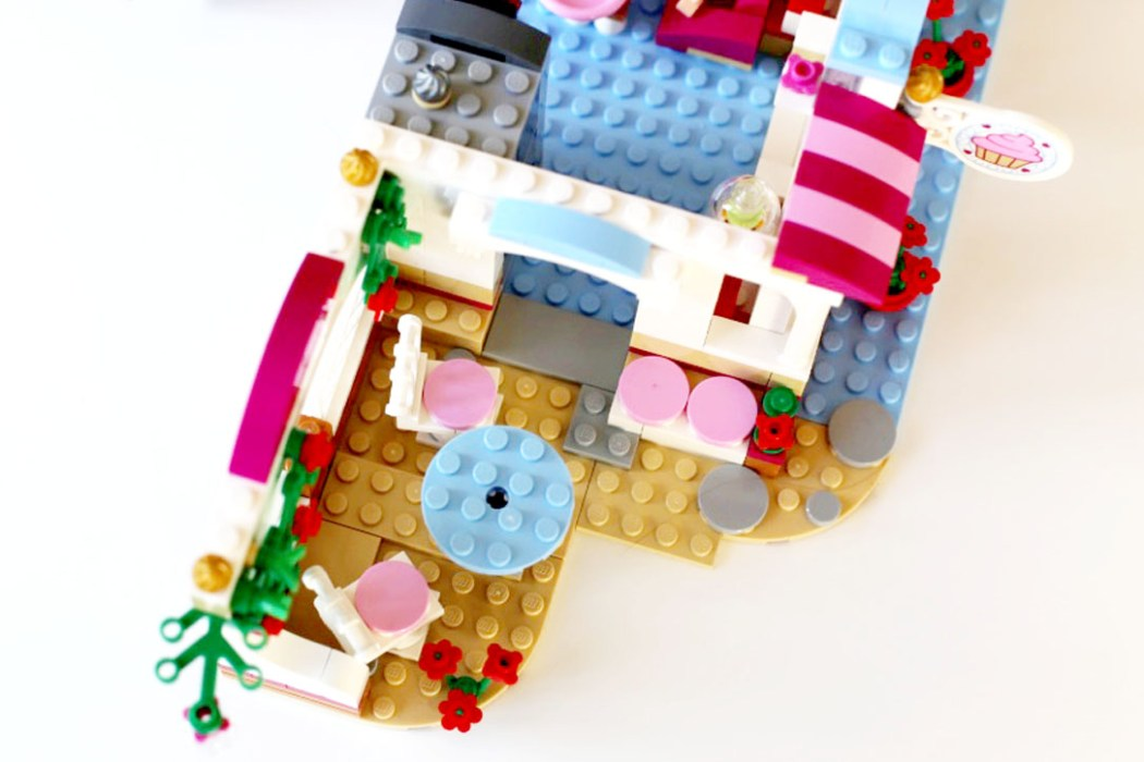 160425 legofriends cupcake Ca casse les briques : Le cupcake Café d'Heartlake City Legofriends
