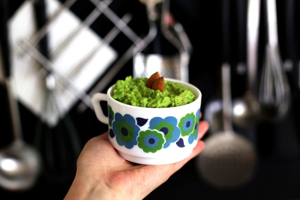 160504 pesto de petits pois amande Ma recette de pesto vert aux petits pois