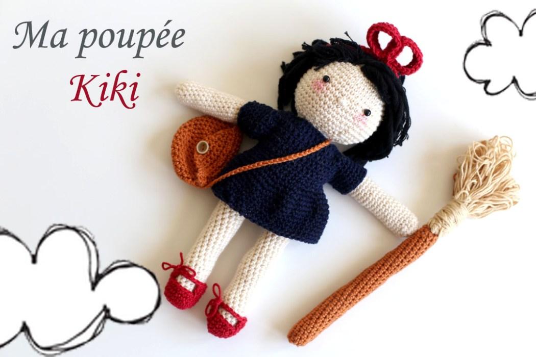 160508 poupee kiki la petite sorciere au crochet Une poupée Kiki la petite sorcière au crochet