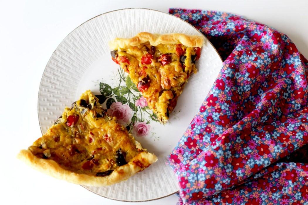 160608 tarte aux legumes dete Oh  ! La belle quiche ! ~aux légumes dété~