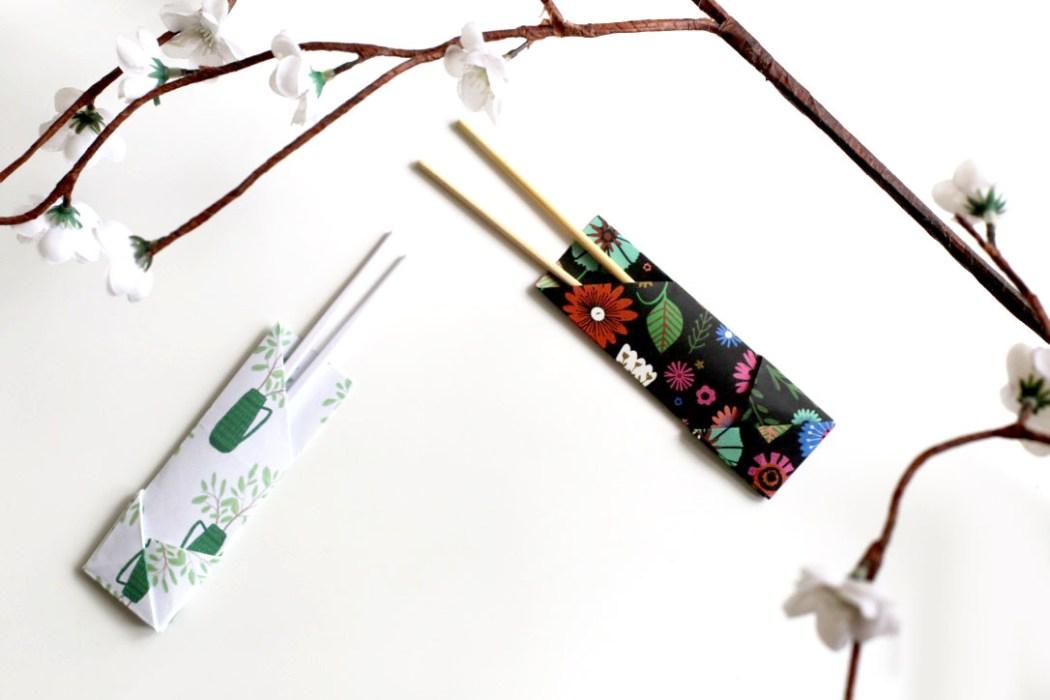 160613 etui a baguettes madame mo origami Fabriquer son étui à baguettes avec Madame Mo (Origami)