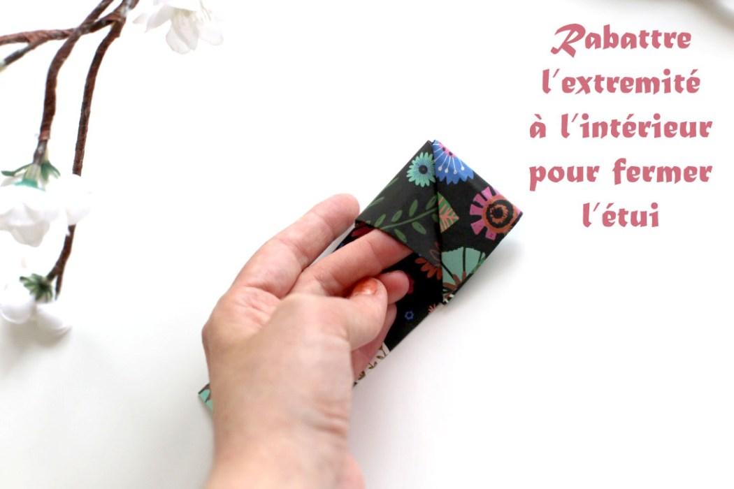 160613 origami baguettes hashi bukuro Fabriquer son étui à baguettes avec Madame Mo (Origami)