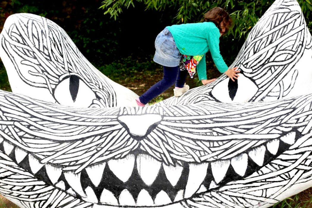 160620 chat street art Concentré de vie #35