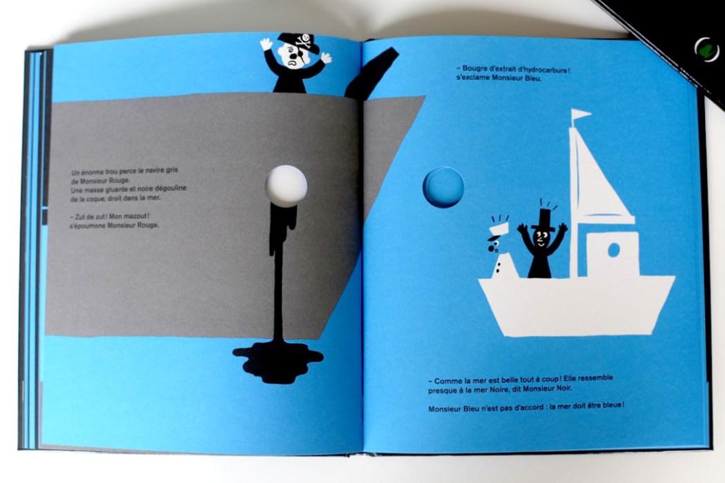 160708 monsieur bleu Monsieur vert et Monsieur bleu sont dans un bateau...