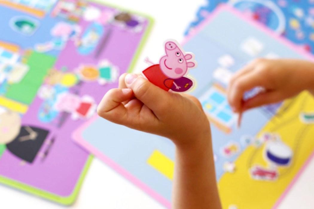 160826 peppa pig stickers silicone Concentré de vie #38