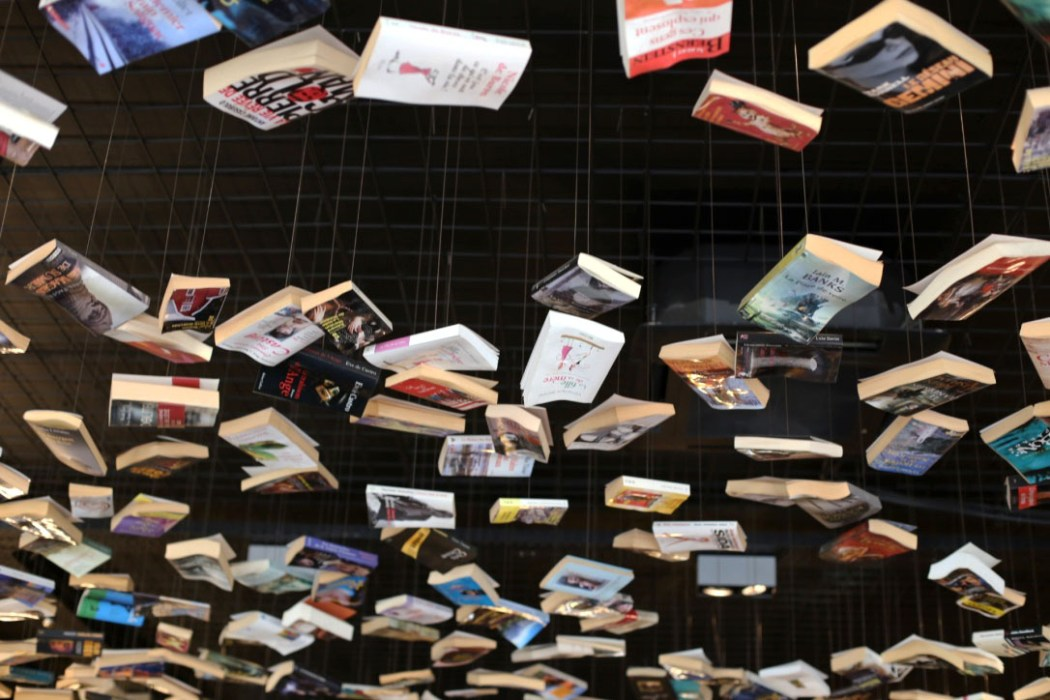 161106 livres plafond cookbook Cook & Book : la librairie la plus cool du monde