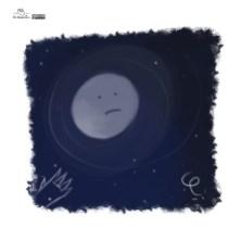 La lluna la pruna