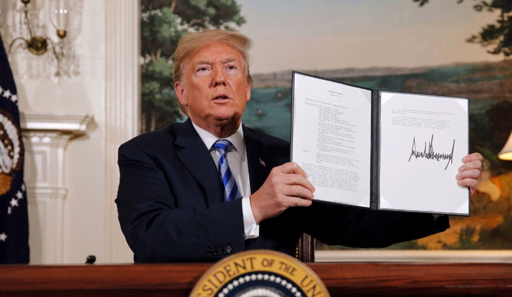 Image result for trump y el acuerdo nuclear con Irán