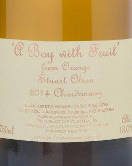 A Boy With Fruit Chardonnay 2014