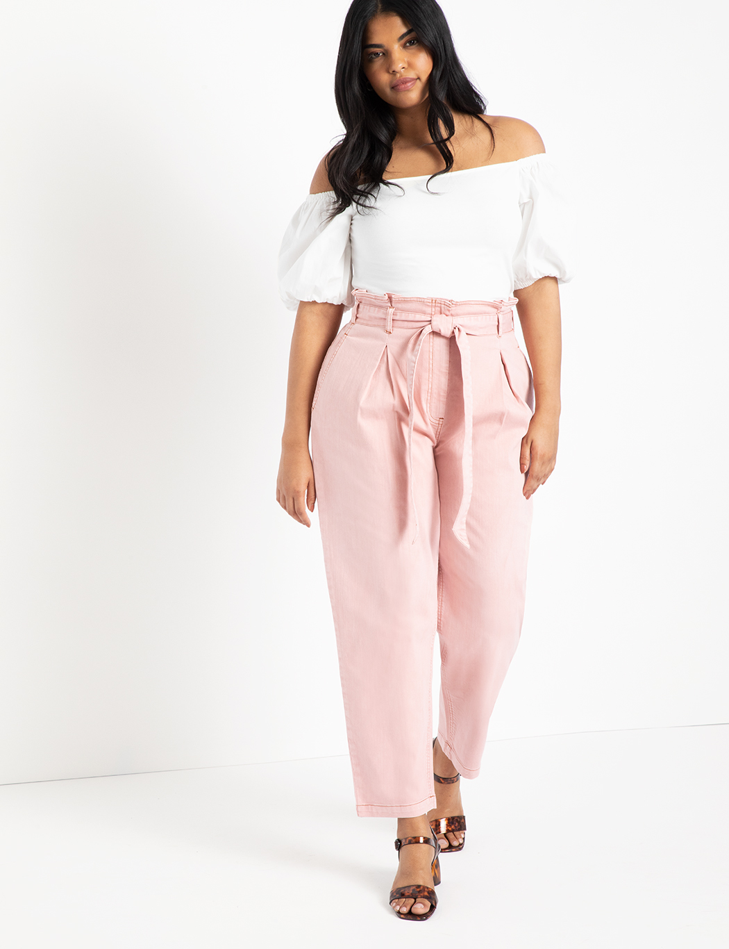 Paperbag Waist Relaxed Jean 1
