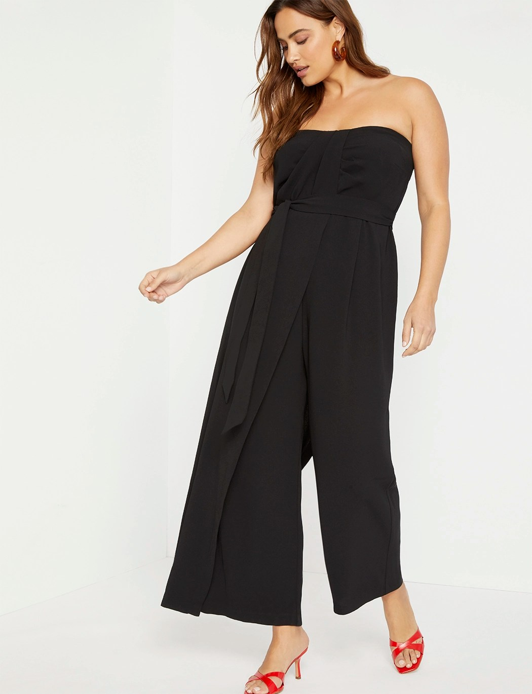 Draped Front Jumpsuit 9