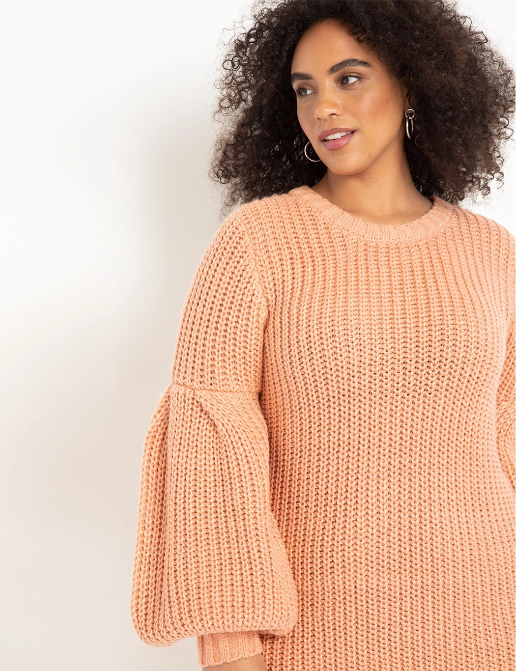Full Sleeve Relaxed Sweater Dress