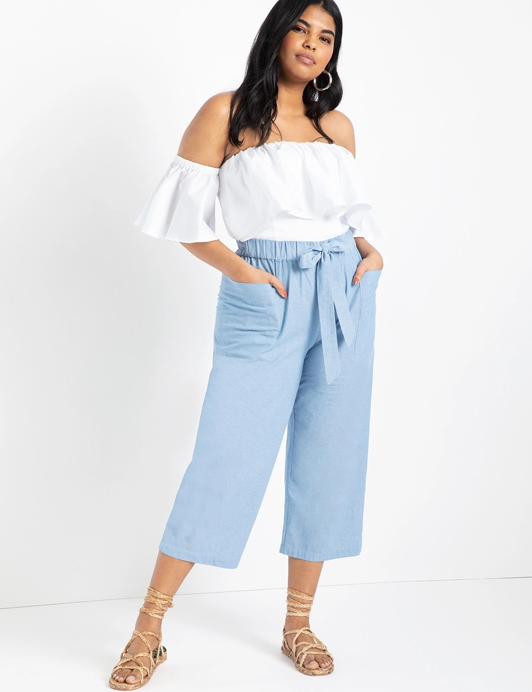 Easy Chambray Pant 8