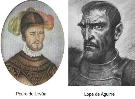 PEDRO DE URSUA Y LOPE DE AGUIRRE