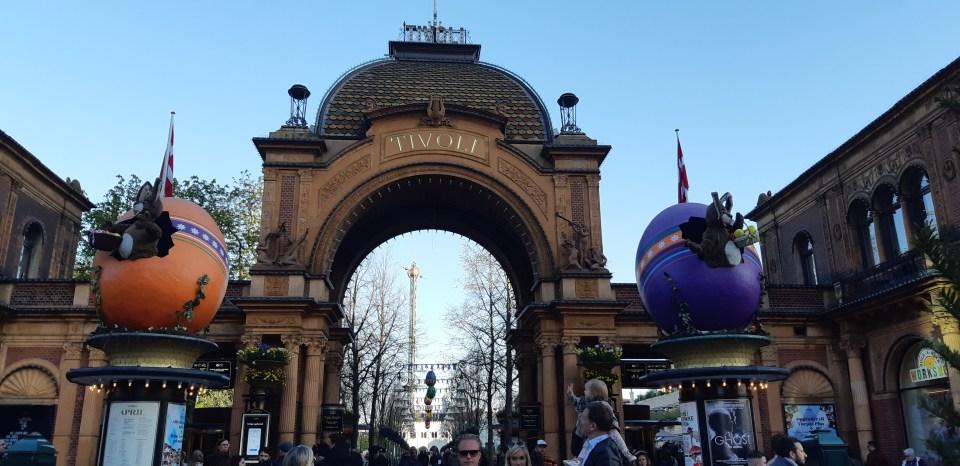 Parc de Tivoli Copenhague