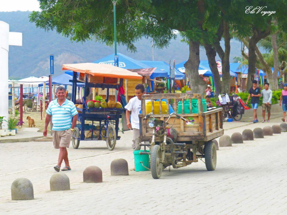 promenade puerto lopez équateur