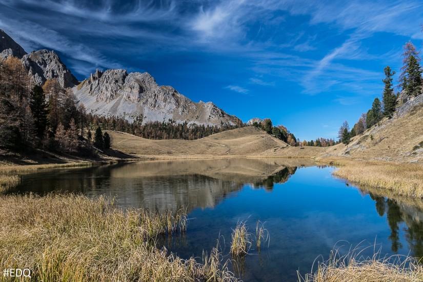 Parc naturel régional du Queyras lac montagne