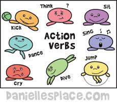 Learning our action verbs