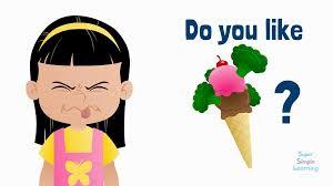 Do you like……food….Year 1