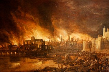 """THE GREAT PLAGUE & ""THE GREAT FIRE"""