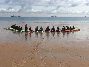 CLAUSURA DEL CURSO DE SURF