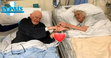 Pareja de ancianos que falleció de COVID-19
